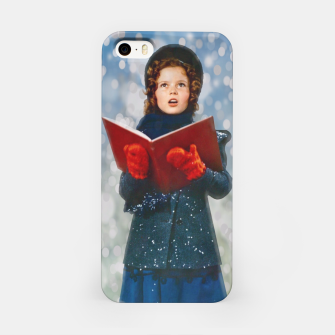 Miniatur Shirley Temple Christmas Carol iPhone Case, Live Heroes