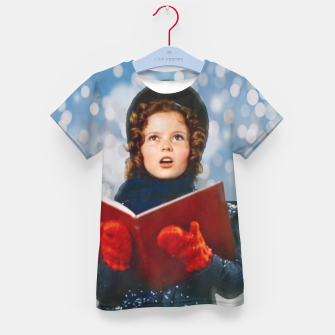 Thumbnail image of Shirley Temple Christmas Carol Kid's t-shirt, Live Heroes