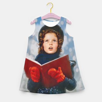 Miniatur Shirley Temple Christmas Carol Girl's summer dress, Live Heroes