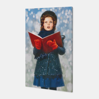 Miniatur Shirley Temple Christmas Carol Canvas, Live Heroes
