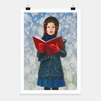 Thumbnail image of Shirley Temple Christmas Carol Poster, Live Heroes