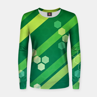 Imagen en miniatura de Hexagons n' Line Women sweater, Live Heroes