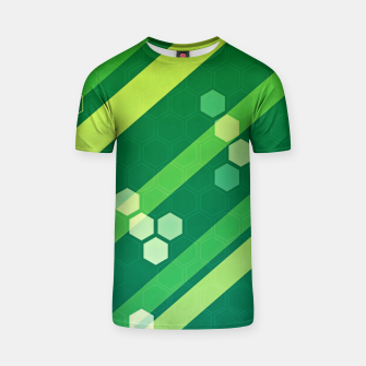 Thumbnail image of Hexagons n' Line T-shirt, Live Heroes