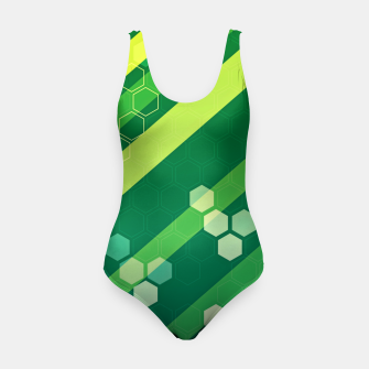 Miniatur Hexagons n' Line Swimsuit, Live Heroes