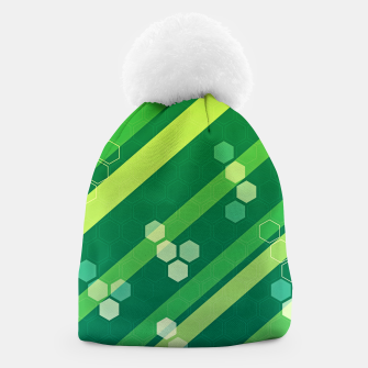 Thumbnail image of Hexagons n' Line Beanie, Live Heroes