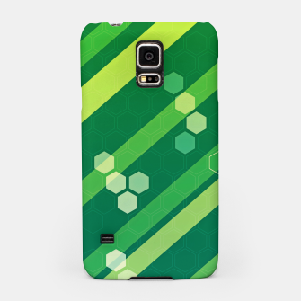 Thumbnail image of Hexagons n' Line Samsung Case, Live Heroes