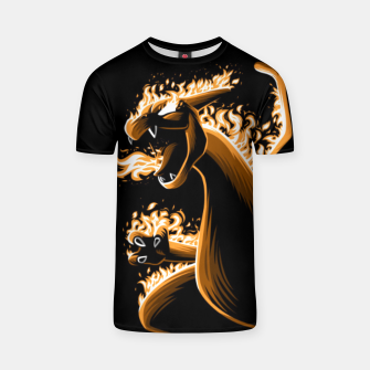 Thumbnail image of Fire evolution Dragon Camiseta, Live Heroes