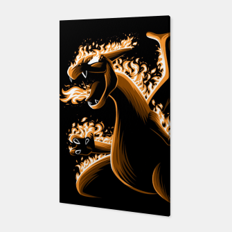 Thumbnail image of Fire evolution Dragon Canvas, Live Heroes