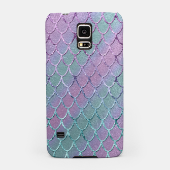 Thumbnail image of Mermaid Princess Glitter Scales Glam #1 #shiny #stripes #decor #art  Handyhülle für Samsung, Live Heroes