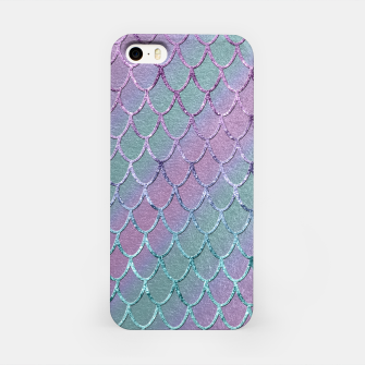 Thumbnail image of Mermaid Princess Glitter Scales Glam #1 #shiny #stripes #decor #art  iPhone-Hülle, Live Heroes