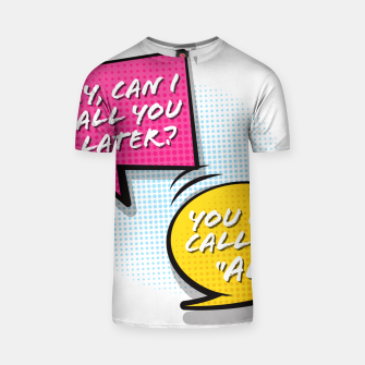 """Thumbnail image of You  can call me """"Al"""" T-shirt, Live Heroes"""