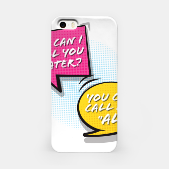 """Thumbnail image of You  can call me """"Al"""" iPhone Case, Live Heroes"""