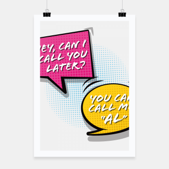 """Thumbnail image of You  can call me """"Al"""" Poster, Live Heroes"""