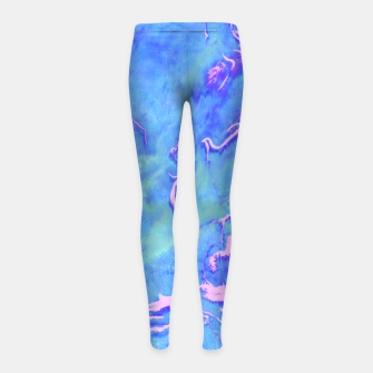 Miniaturka Fiji Beaches Girl's leggings, Live Heroes