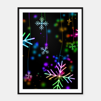 Thumbnail image of Snowflakes Plakaty w ramie , Live Heroes