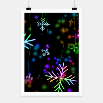 Thumbnail image of Snowflakes Plakat, Live Heroes