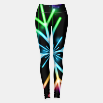 Thumbnail image of Snowflakes Legginsy, Live Heroes