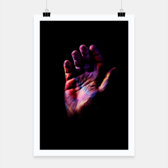 Miniatur Hand Poster, Live Heroes