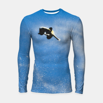 Miniatur Surfer in the air  Longsleeve rashguard , Live Heroes