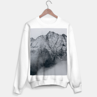Winter Is Here - Misty Black Rocks Sweater regular Bild der Miniatur