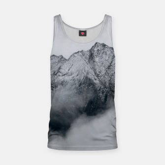 Winter Is Here - Misty Black Rocks Tank Top Bild der Miniatur