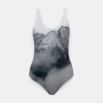 Winter Is Here - Misty Black Rocks Swimsuit Bild der Miniatur