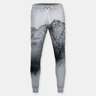 Winter Is Here - Misty Black Rocks Sweatpants Bild der Miniatur