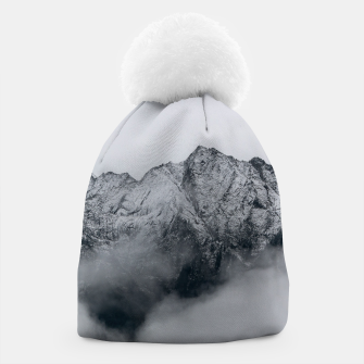 Winter Is Here - Misty Black Rocks Beanie Bild der Miniatur
