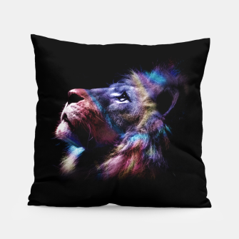 Lion Pillow miniature