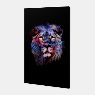 Miniature de image de Lion Canvas, Live Heroes