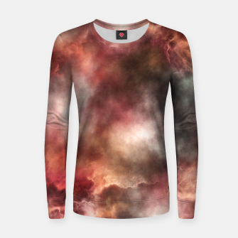 Thumbnail image of Anomalous Nebula Women sweater, Live Heroes