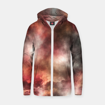 Thumbnail image of Anomalous Nebula Zip up hoodie, Live Heroes