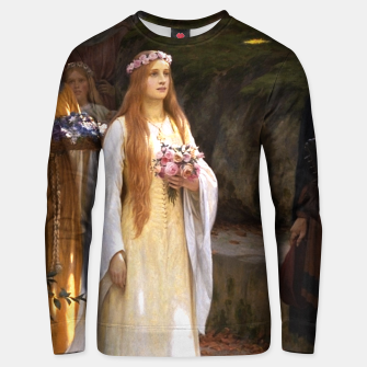 Thumbnail image of My Fair Lady by Edmund Leighton Unisex sweater, Live Heroes