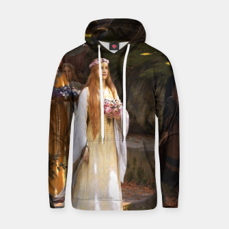 Thumbnail image of My Fair Lady by Edmund Leighton Hoodie, Live Heroes