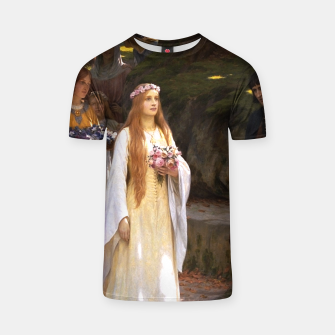 Thumbnail image of My Fair Lady by Edmund Leighton T-shirt, Live Heroes