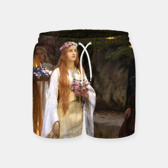 Thumbnail image of My Fair Lady by Edmund Leighton Swim Shorts, Live Heroes
