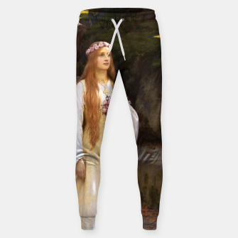 Thumbnail image of My Fair Lady by Edmund Leighton Sweatpants, Live Heroes