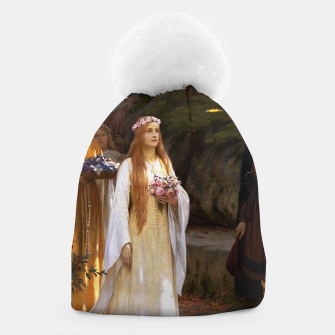 Thumbnail image of My Fair Lady by Edmund Leighton Beanie, Live Heroes