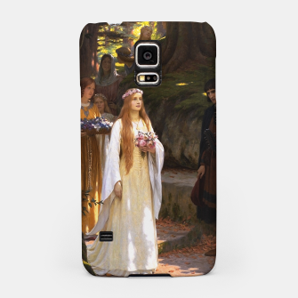 Thumbnail image of My Fair Lady by Edmund Leighton Samsung Case, Live Heroes