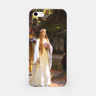 Thumbnail image of My Fair Lady by Edmund Leighton iPhone Case, Live Heroes