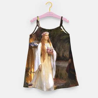 Thumbnail image of My Fair Lady by Edmund Leighton Girl's dress, Live Heroes