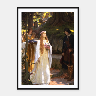 Thumbnail image of My Fair Lady by Edmund Leighton Framed poster, Live Heroes
