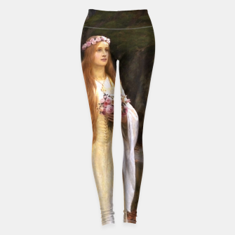Thumbnail image of My Fair Lady by Edmund Leighton Leggings, Live Heroes