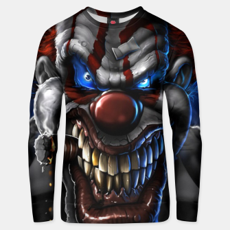 Thumbnail image of Scarry Clown unisex sweater, Live Heroes