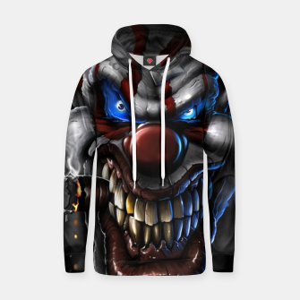 Thumbnail image of Scarry Clown Hoodie, Live Heroes
