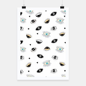 Thumbnail image of Beauty Lucky Blue and Black Eyes Pattern, Live Heroes