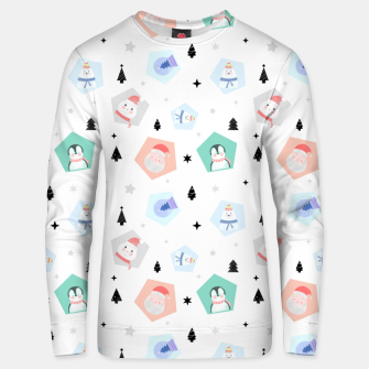 Thumbnail image of Funny Christmas Unisex sweater, Live Heroes