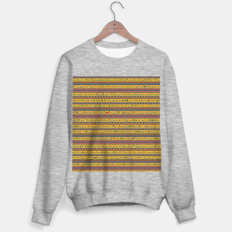 Thumbnail image of Too Many Hieroglyphs Sweater regular, Live Heroes