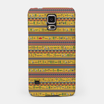 Thumbnail image of Too Many Hieroglyphs Samsung Case, Live Heroes
