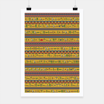 Thumbnail image of Too Many Hieroglyphs Poster, Live Heroes
